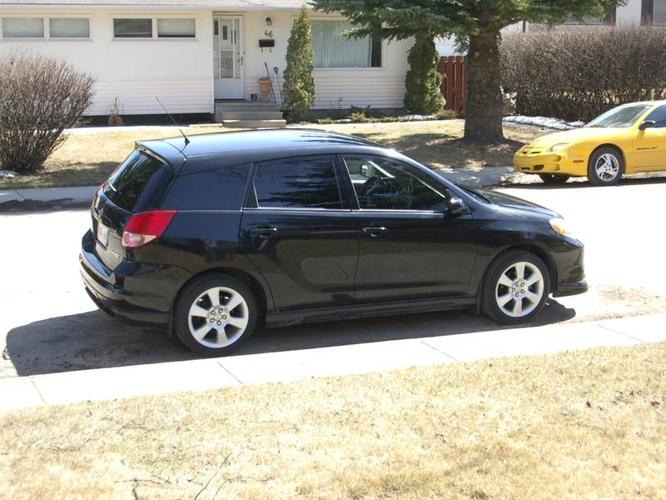 2003 toyota matrix xrs for sale in calgary alberta all. Black Bedroom Furniture Sets. Home Design Ideas