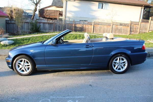 2004 bmw 325ci convertible 70kms 18500 for sale in. Black Bedroom Furniture Sets. Home Design Ideas