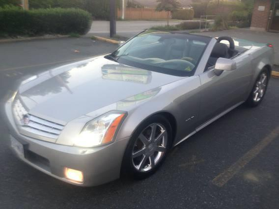 2004 Cadillac XLR Convertible 126k 320hp Nav No accidents - $22500