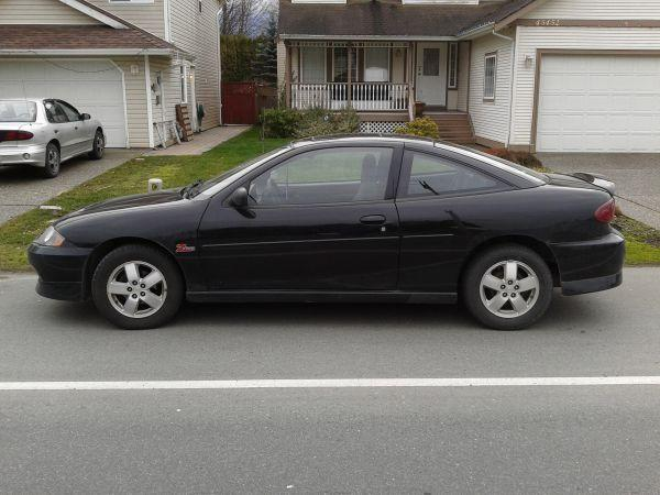2004 chevrolet cavalier z24 black 2550 for sale in aldergrove british columbia all cars in. Black Bedroom Furniture Sets. Home Design Ideas