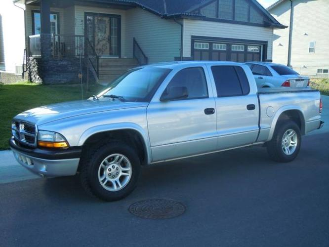 2004 dodge dakota pickup truck for sale in airdrie alberta all cars in. Black Bedroom Furniture Sets. Home Design Ideas