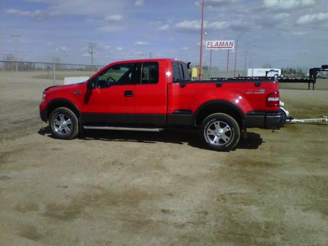 2004 ford f 150 fx4 pickup truck for sale in saskatoon saskatchewan all cars in. Black Bedroom Furniture Sets. Home Design Ideas