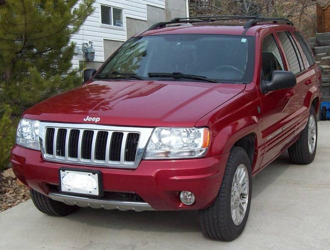 2004 jeep grand cherokee limited suv low mileage for. Black Bedroom Furniture Sets. Home Design Ideas
