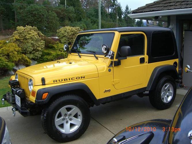 2004 jeep wrangler tj rubicon suv for sale in sechelt. Black Bedroom Furniture Sets. Home Design Ideas