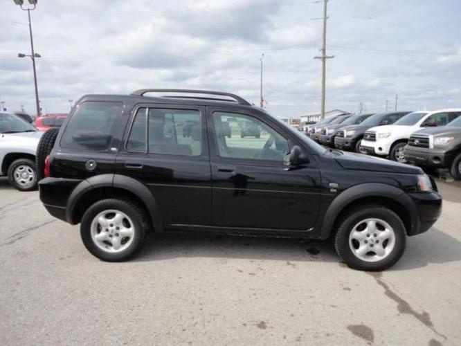 2004 land rover freelander se for sale in steinbach. Black Bedroom Furniture Sets. Home Design Ideas