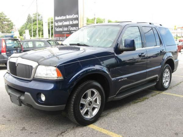 2004 Lincoln Aviator AWD *** 7 Passenger, SUNROOF, AC *** - $4995
