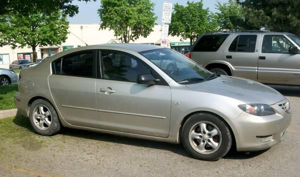 2004 Mazda 3, Auto AC, Alloy, 140K - $3400
