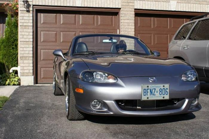 2004 mazda mx 5 miata mazdaspeed convertible for sale in barrie ontario all cars in. Black Bedroom Furniture Sets. Home Design Ideas