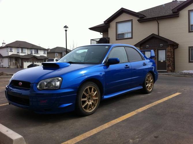2004 Subaru WRX STI - Car Proof & Inspection $22,000 obo