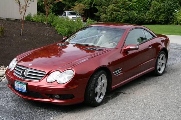 2004 v12 sl 600 mercedes benz 39500 for sale in west. Black Bedroom Furniture Sets. Home Design Ideas
