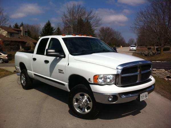 2005 dodge ram 2500 5 9 cummins diesel 22275 for sale in freelton ontario all cars in. Black Bedroom Furniture Sets. Home Design Ideas