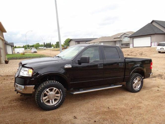 2005 ford f 150 lariat pickup truck for sale in melfort saskatchewan all cars in. Black Bedroom Furniture Sets. Home Design Ideas