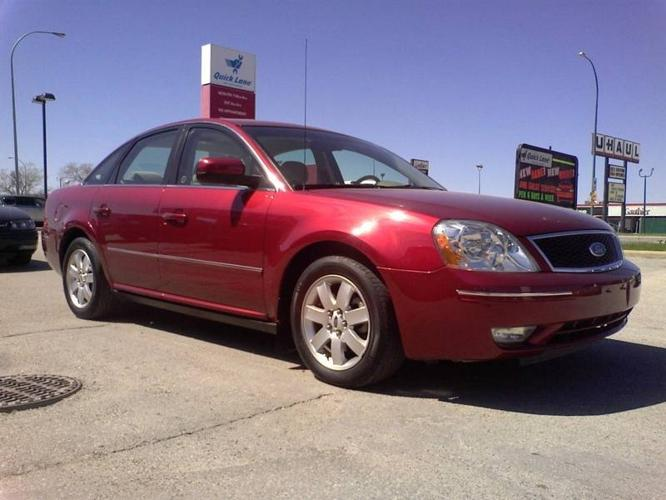 2005 ford five hundred sel fwd for sale in winnipeg manitoba all cars in. Black Bedroom Furniture Sets. Home Design Ideas