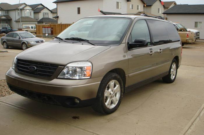 2005 Ford Freestar Sport Tire Size
