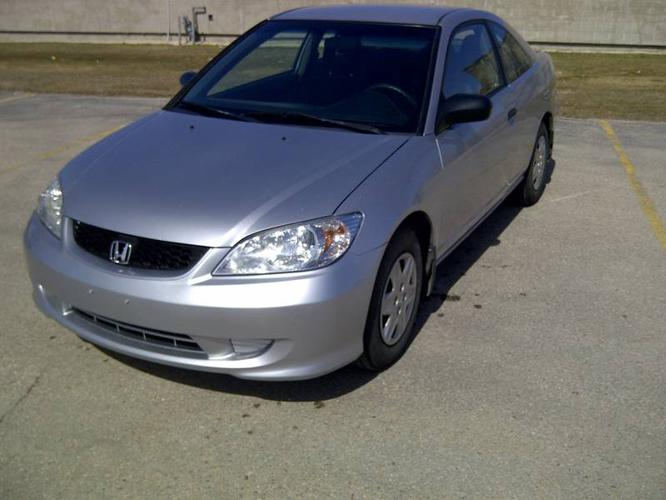 2005 honda civic coupe for sale in winnipeg manitoba all cars in. Black Bedroom Furniture Sets. Home Design Ideas