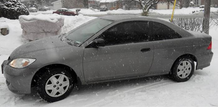 2005 Honda Civic DX Coupe Special Edition