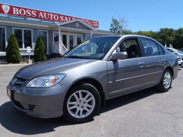 2005 Honda Civic LX-G - $7998