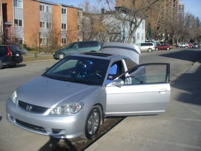 2005 honda civic si coupe for sale in fort mcmurray. Black Bedroom Furniture Sets. Home Design Ideas