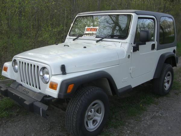 2005 Jeep Wrangler - $11300