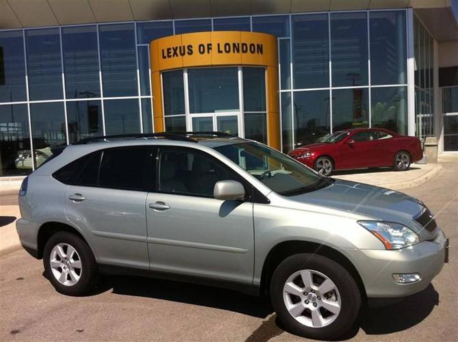 2005 lexus rx330 luxury package for sale in london ontario all cars in. Black Bedroom Furniture Sets. Home Design Ideas