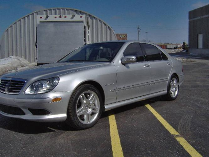 2005 mercedes benz s class s55 amg kompressor sedan for for 2005 s500 mercedes benz