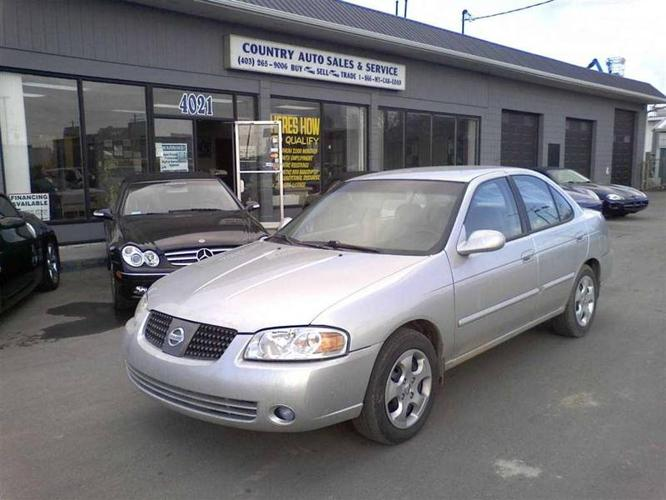 2005 nissan sentra for sale in calgary alberta all cars in. Black Bedroom Furniture Sets. Home Design Ideas