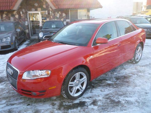 2006 Audi A4 2.0T QUATTRO/LEATHER/SUNROOFSedan - $16995