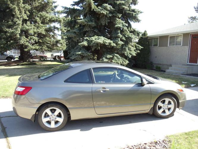 2006 honda civic ex coupe for sale in saskatoon. Black Bedroom Furniture Sets. Home Design Ideas