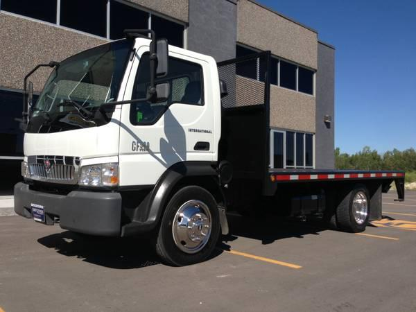 2006 International Flat deck lift truck with stakebed Diesel Automatic - $16900