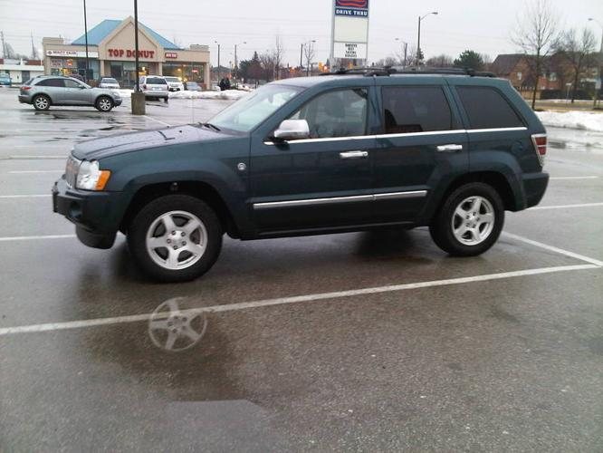 2006 jeep grand cherokee limited 5 7l hemi loaded w extras for sale in richmond hill ontario. Black Bedroom Furniture Sets. Home Design Ideas