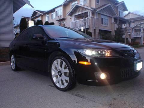 2006 Mazda 6 Gt 62,000km (Black) Bose System 2 Yrs Left on Waranty for $20,000