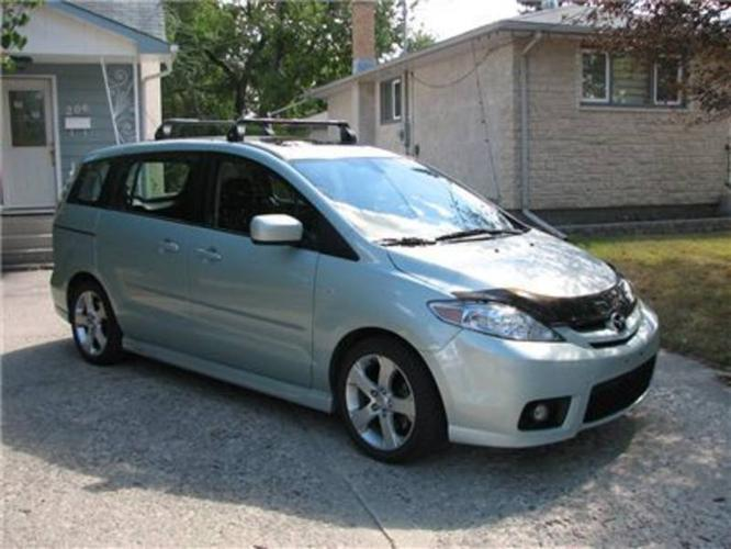 2006 mazda mazda5 gt minivan for sale in winnipeg. Black Bedroom Furniture Sets. Home Design Ideas
