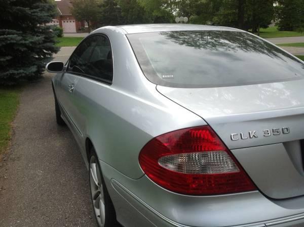 2006 Mercedes-Benz CLK-Class 350 Coupe - $14000