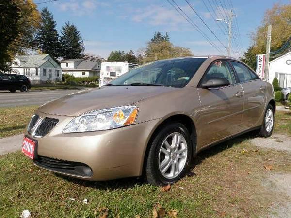 2006 Pontiac G6 - $7998