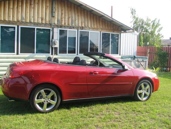2006 Pontiac G6 GTP leather Convertible