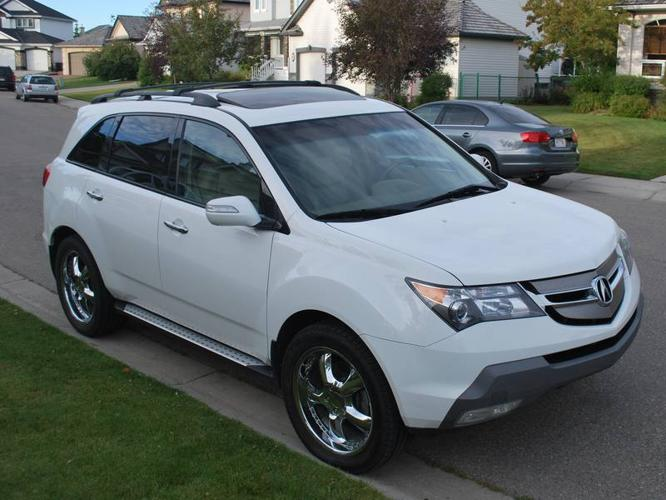 2007 acura mdx elite package with 2 sets rims tires suv. Black Bedroom Furniture Sets. Home Design Ideas