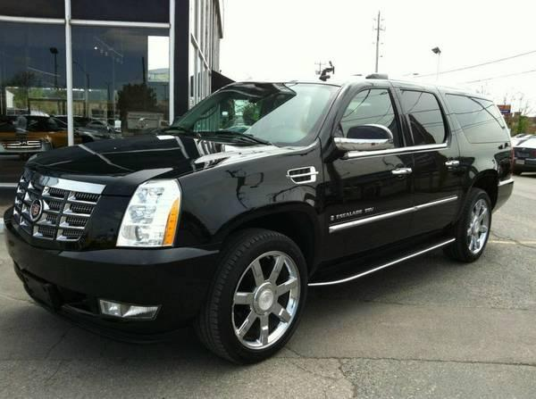 2007 cadillac escalade esv awd 8 pass dvd clean car proof. Cars Review. Best American Auto & Cars Review