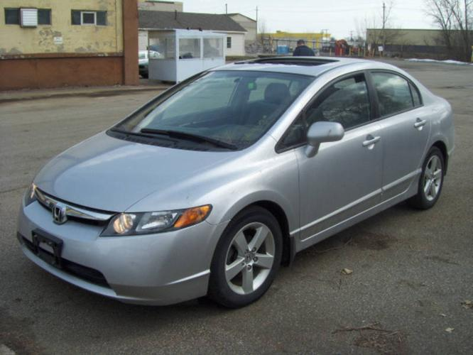 2007 honda civic ex sedan for sale in toronto ontario all cars in. Black Bedroom Furniture Sets. Home Design Ideas