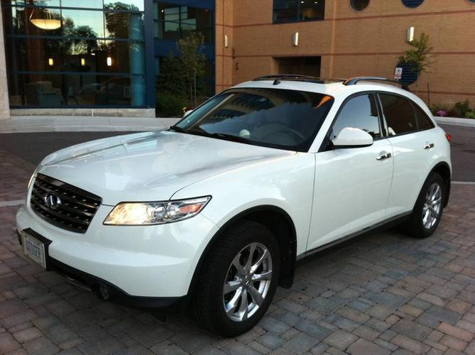 2007 infiniti fx suv pearl white color for sale by owner for sale in north york ontario. Black Bedroom Furniture Sets. Home Design Ideas