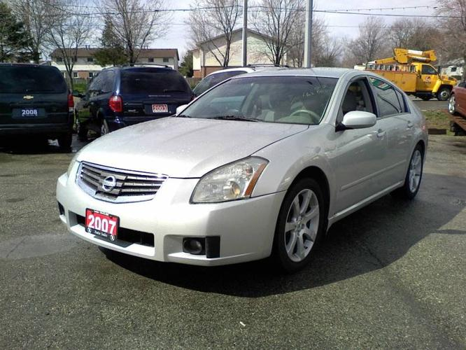 2007 nissan maxima sedan for sale in london ontario all cars in. Black Bedroom Furniture Sets. Home Design Ideas
