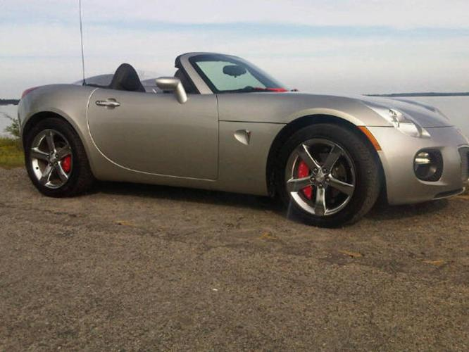 2007 pontiac solstice gxp turbo convertible for sale in. Black Bedroom Furniture Sets. Home Design Ideas