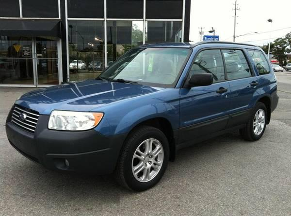 2007 SUBARU FORESTER AWD - COLUMBIA EDITION - CLEAN CAR-PROOF - $6450