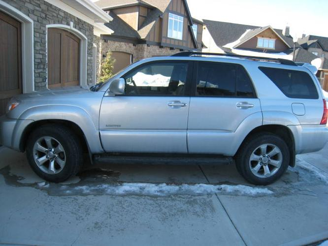 2007 toyota 4runner v6 limited edition suv for sale in calgary alberta all cars in. Black Bedroom Furniture Sets. Home Design Ideas
