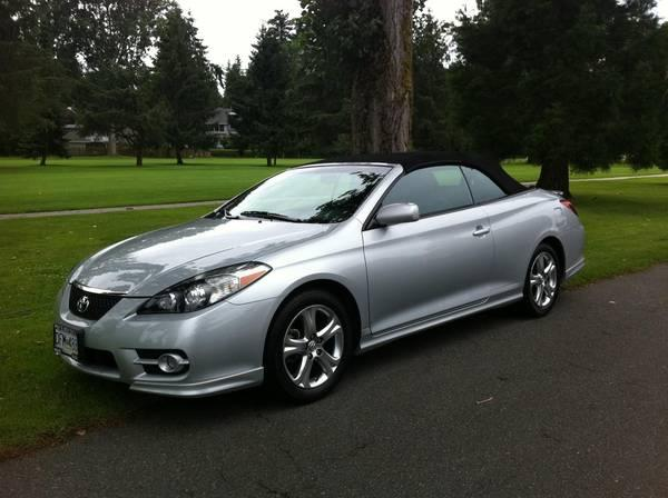 2007 toyota camry solara convertible mint 18500 for sale in white rock british columbia. Black Bedroom Furniture Sets. Home Design Ideas