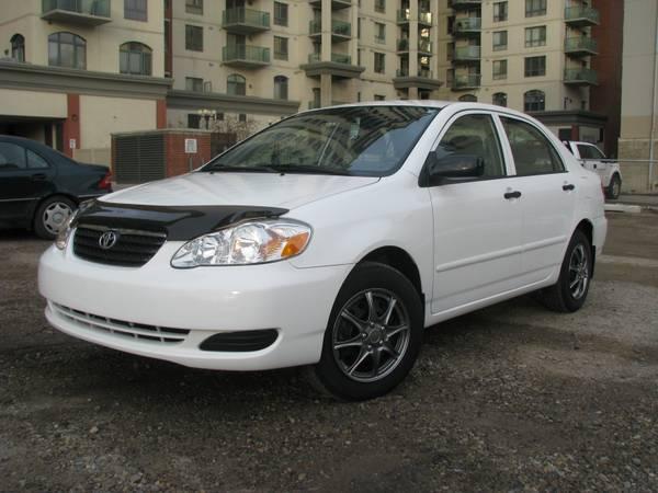 2007 Toyota Corolla 24,500 KM - $11000