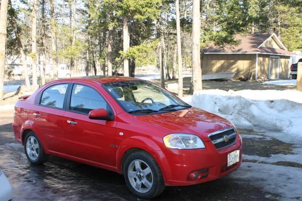 2008 Chevrolet Aveo - CAD6000