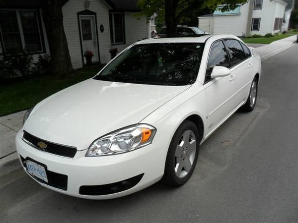 2008 chevrolet impala ss 12900 for sale in brockville ontario all cars in. Black Bedroom Furniture Sets. Home Design Ideas