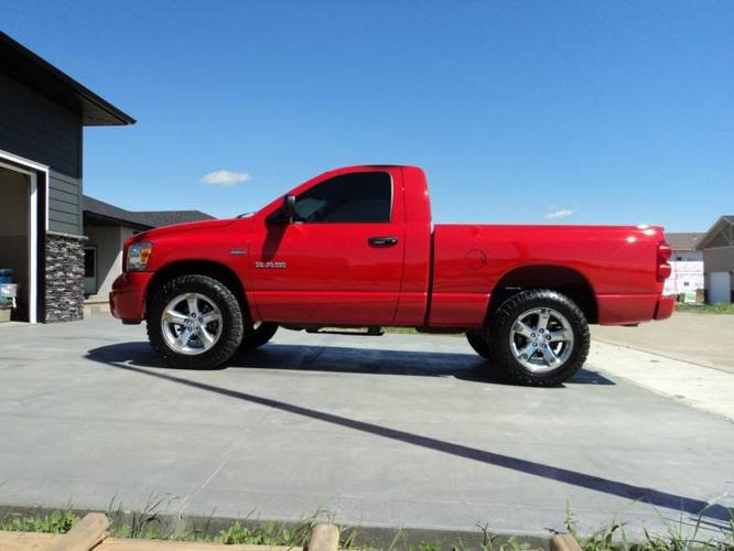 2008 dodge power ram 1500 sport pickup truck for sale in moose jaw saskatchewan all cars in. Black Bedroom Furniture Sets. Home Design Ideas