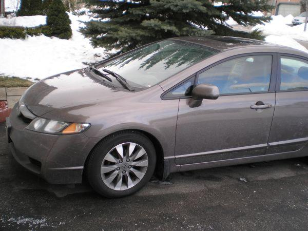 2009 honda civic ex l for sale 12000 for sale in mississauga ontario all cars in. Black Bedroom Furniture Sets. Home Design Ideas