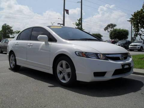 2009 Honda Civic Sedan Sport edition with SUNROOF & many options
